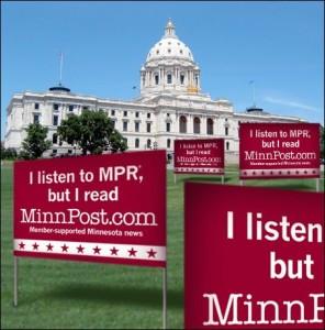 MinnPost signs